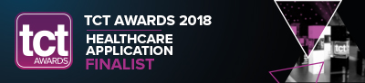 TCT Awards 2018 Healthcare application Finalist - endoCupcut